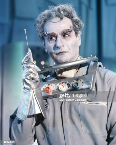 Eli Wallach US actor in costume in a publicity portrait issued for the US television series 'Batman' USA 1967 The series featuring DC Comics...