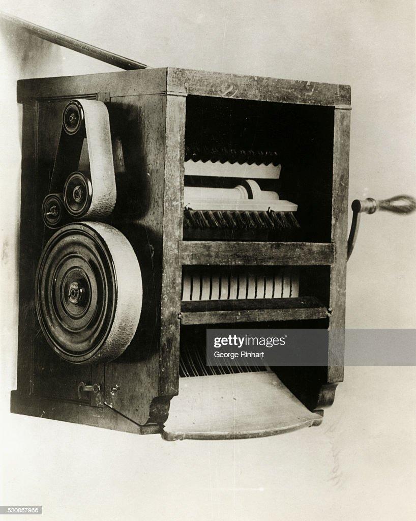 Eli Whitney's Cotton Gin : News Photo