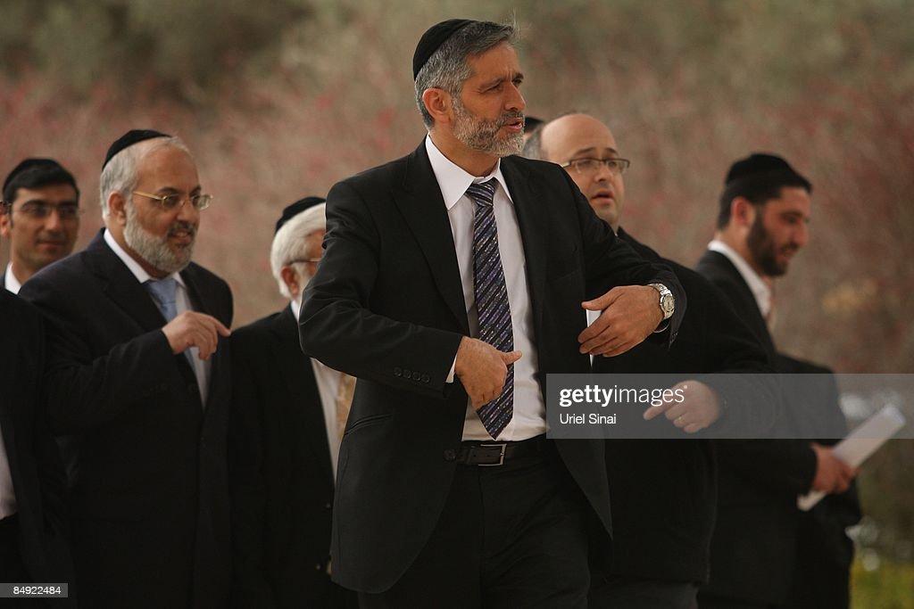 Shimon Peres's Prime Ministerial Chances Impove : News Photo