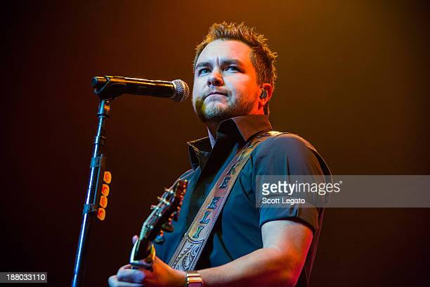 Eli Young performs at The Soundboard Motor City Casino on November 14 2013 in Detroit Michigan