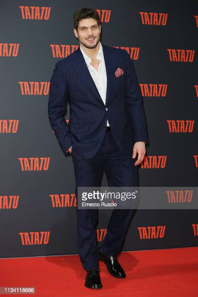 Elia Fongaro attends the party for TaTaTu at Studios Ex De Paolis on March 06 2019 in Rome Italy