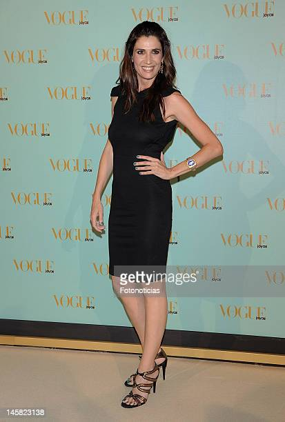 Elia Galera arrives to the 'Vogue Jewelry Awards 2012' at the Madrid Stock Exchange building on June 6 2012 in Madrid Spain