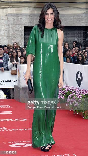 Elia Galera attends 15th Malaga Film Festival 2012 on April 28 2012 in Malaga Spain