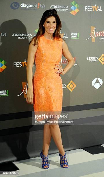 Elia Galera attends 'Amar es para siempre' new season presentation during FesTVal 2015 on September 1 2015 in VitoriaGasteiz Spain
