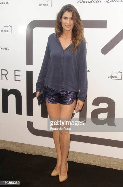 Elia Galera attends 'Bendita locura' new collection party photocall at Villamagna hotel on June 11 2013 in Madrid Spain