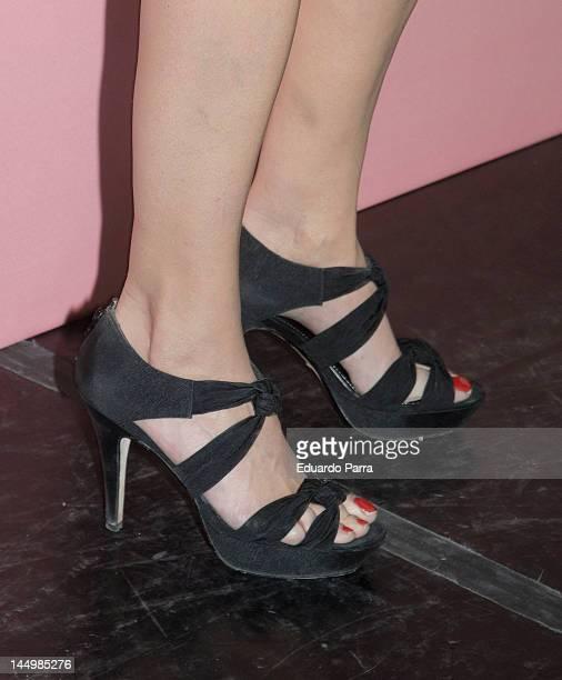 Elia Galera attends Cosmopolitan fragances awards photocall at Calderon theatre on May 21 2012 in Madrid Spain