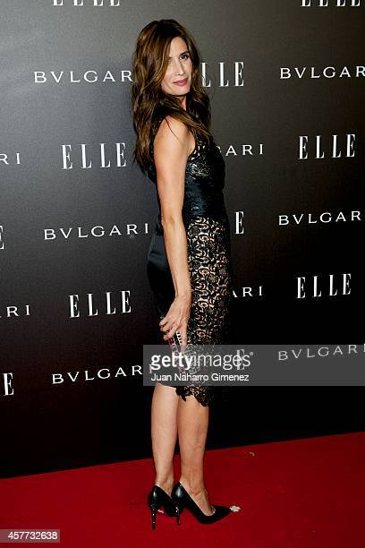 Elia Galera attends Elle Style Awards 2014 photocall at Italian Embassy on October 23 2014 in Madrid Spain