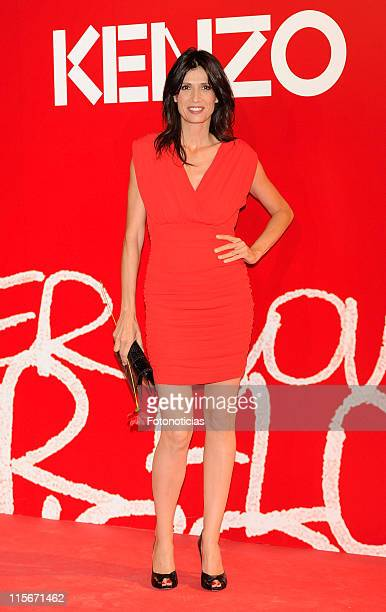 Elia Galera attends Kenzo Summer Party at Chamartin Station on June 8 2011 in Madrid Spain