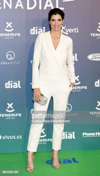 Elia Galera attends the 'Cadena Dial' awards photocall on March 16 2017 in Tenerife Spain