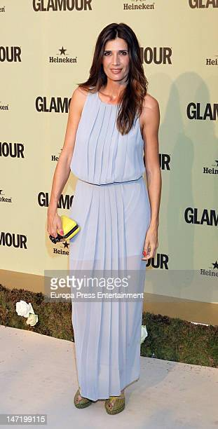 Elia Galera attends the 'Glamour' magazine 10th anniversary gala on June 26 2012 in Madrid Spain