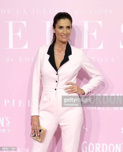 Elia Galera attends the 'Pieles' premiere pink carpet at Capitol cinema on June 7 2017 in Madrid Spain
