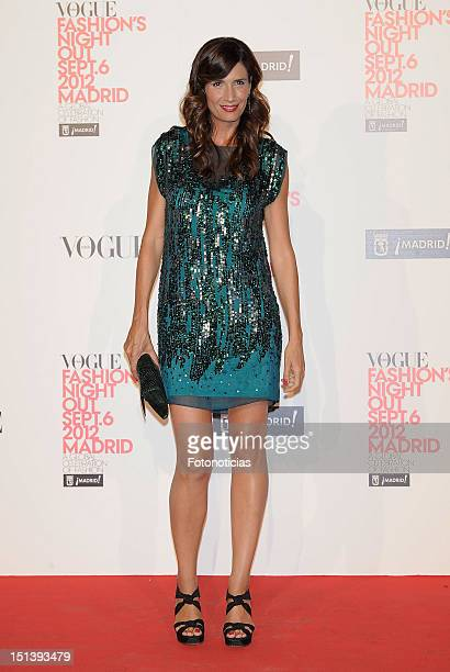 Elia Galera attends Vogue Fashion Night Out Madrid 2012 on September 6 2012 in Madrid Spain