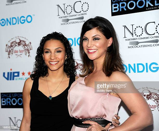 Elia MonteBrown and Samantha Ivers attend the screening of Once Upon A Time In Brooklyn at AMC Empire on April 29 2013 in New York City