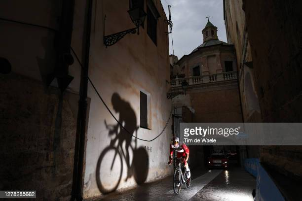 Elia Viviani of Italy and Team Cofidis Solutions Credits / Duomo di Monreale / Monte Caputo / Cathedral / Monreale City / Shadow / during the 103rd...
