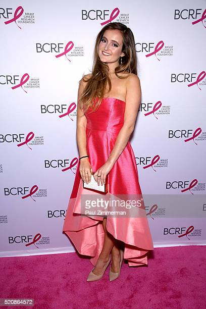 Eliana attends the 2016 Breast Cancer Research Foundation Hot Pink Party at The Waldorf=Astoria on April 12 2016 in New York City