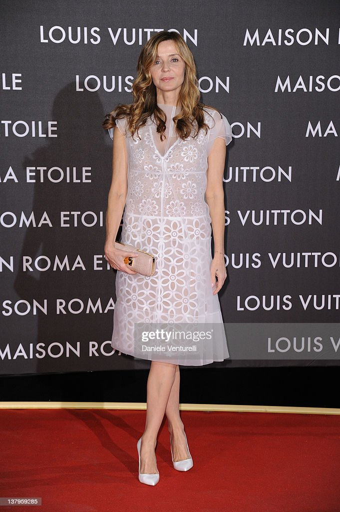 Eliana Miglio attend the 'Maison Louis Vuitton Roma Etoile' Opening Party on January 27, 2012 in Rome, Italy.