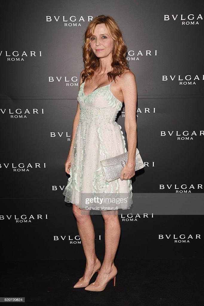 Eliana Miglio attends BVLGARI Celebration of B.Zero1 At Milan Design Week at Hotel Bulgari on April 12, 2016 in Milan, Italy.