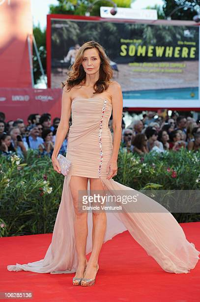 Eliana Miglio attends the opening ceremony and the Black Swan premiere at the Palazzo del Cinema during the 67th Venice International Film Festival...