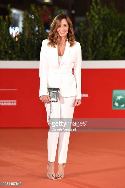 Eliana Miglio attends the red carpet of the movie Maledetta Primavera during the 15th Rome Film Festival on October 21 2020 in Rome Italy