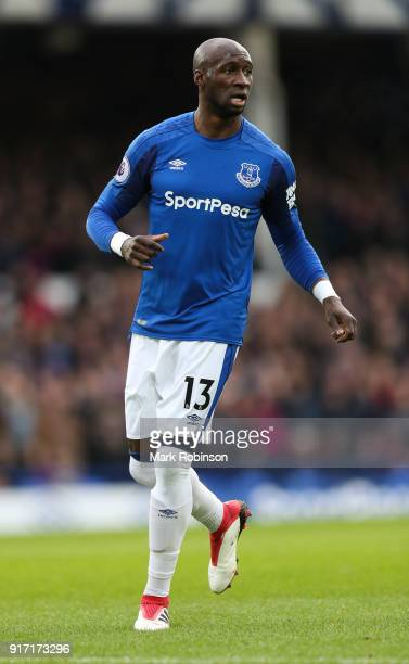 Eliaquim Mangala of Everton during the Premier League match between Everton and Crystal Palace at Goodison Park on February 10 2018 in Liverpool...