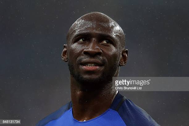 Eliaquim Mangala of France looks on during the UEFA Euro 2016 Quarter Final match between France and Iceland at Stade de France on July 03 2016 in...