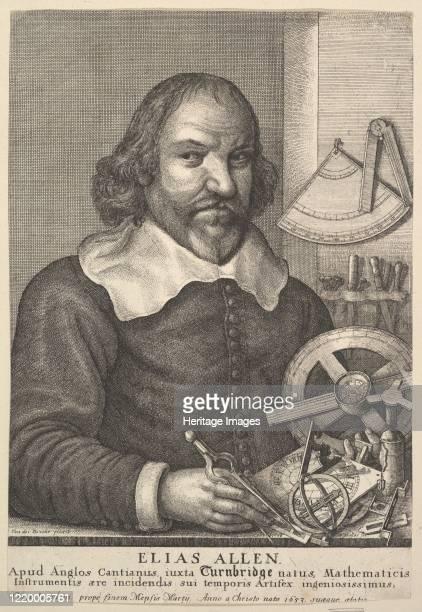 Elias Allen 1666 Artist Wenceslaus Hollar