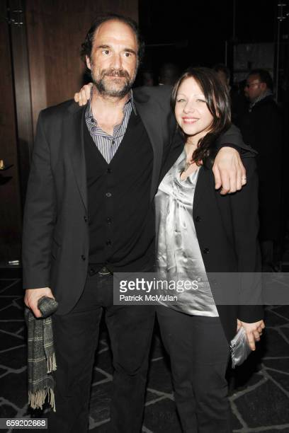 Elias Koteas and Amy Cruickshank guest attend THE CINEMA SOCIETY and SALVATORE FERRAGAMO host the after party for 'TWO LOVERS' at Cooper Square Hotel...