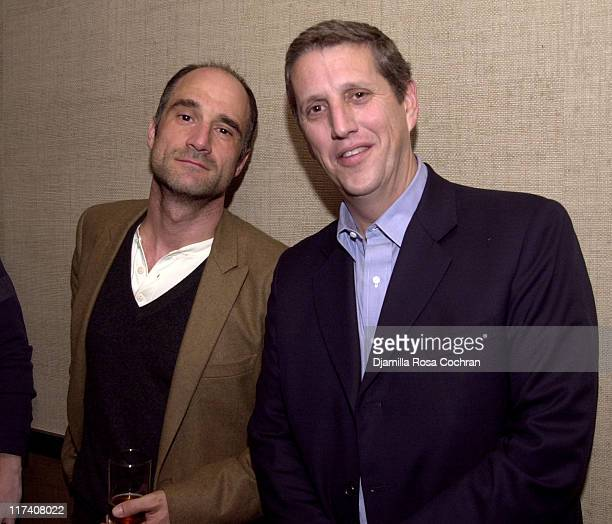 Elias Koteas and Doug Herzog during USA Network's Special Advance Screening and After Party of Part One of Traffic The Miniseries at Tribeca Grand...