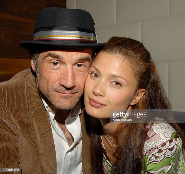 Elias Koteas and Natassia Malthe during One Management Launch Party at Hollywood Roosevelt Hotel in Hollywood California United States