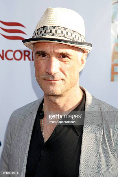 Elias Koteas arrvies at the HollyShorts Short Films Festival Opening Night Gala on August 11 2011 in Hollywood California