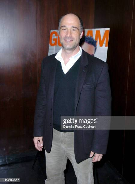 Elias Koteas at Gotham Magazine Celebrates Cover Model Mark Ruffalo with a Screening of his New Film Zodiac at the Bryant Park Hotel
