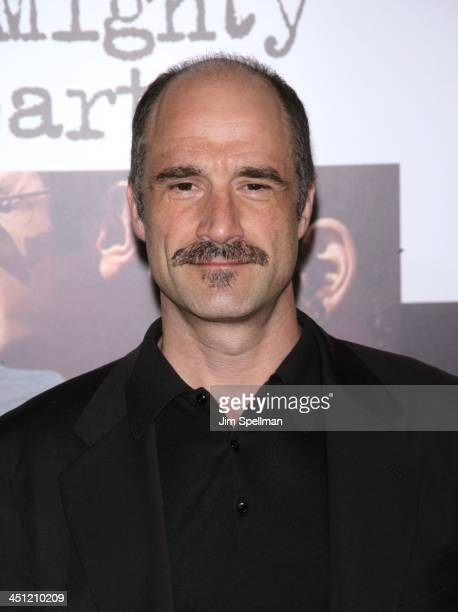 Elias Koteas during A Mighty Heart New York City Premiere Outdside Arrivals at Ziegfeld Theater in New York City New York United States