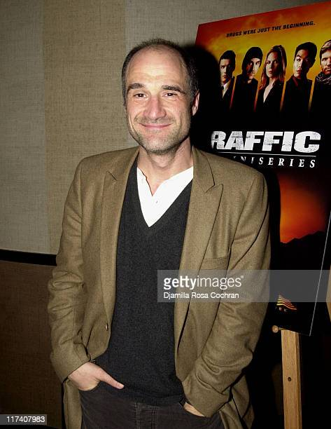 Elias Koteas during USA Network's Special Advance Screening and After Party of Part One of Traffic The Miniseries at Tribeca Grand Hotel in New York...