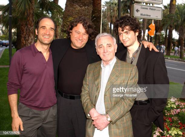 Elias Koteas Robert Lantos Charles Aznavour and David Alpay