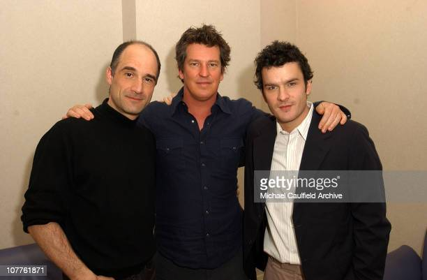 Elias Koteas Stephen Hopkins Exec Producer and Balthazar Getty