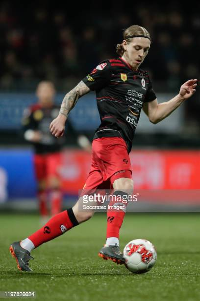 Elias Mar Omarsson of Excelsior Rotterdam during the Dutch Keuken Kampioen Divisie match between Excelsior v NAC Breda at the Van Donge & De Roo...