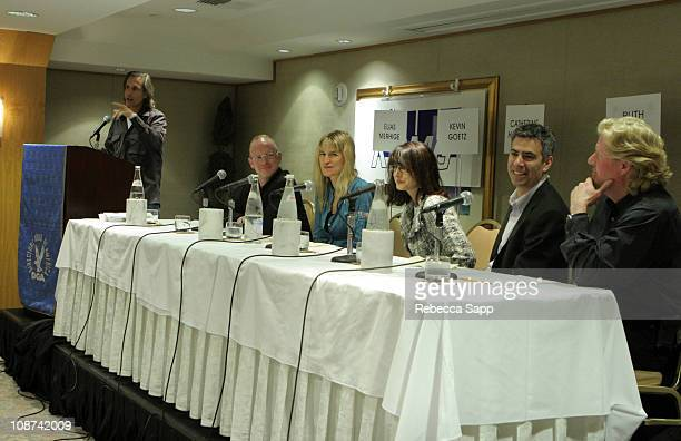 Elias Merhige, director, Kevin Goetz, Managing Director/ Executive VP of Entertainment Research, OTX, Cahtherine Harwicke, writer/director, Ruth...