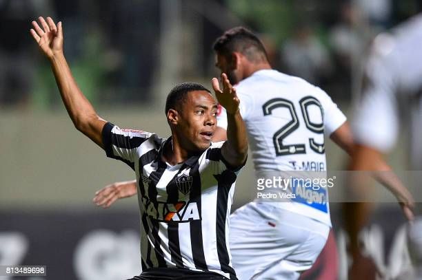 Elias of Atletico MG a match between Atletico MG and Santos as part of Brasileirao Series A 2017 at Independencia stadium on July 12, 2017 in Belo...