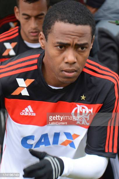 Elias of Flamengo during a match between Flamengo and Internacional as part of the Brazilian Serie A championship at Centenario stadium on July 21...