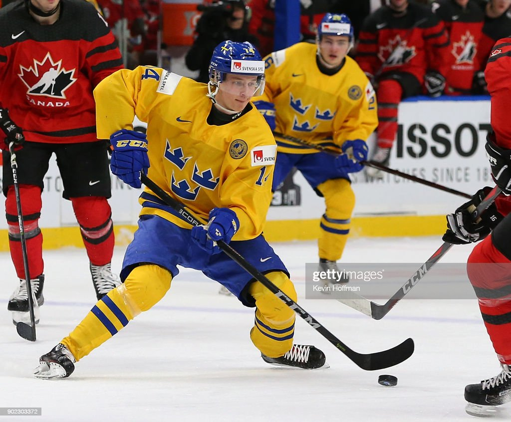 Canada v Sweden: Gold Medal Game - 2018 IIHF World Junior Championship : News Photo