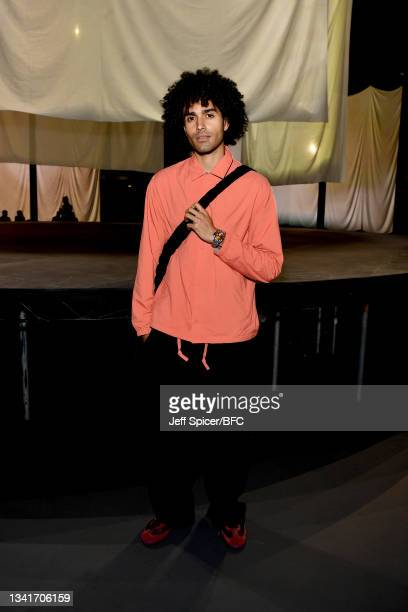 Elias Riadi attends the COS show at The Roundhouse during London Fashion Week September 2021 on September 21, 2021 in London, England.