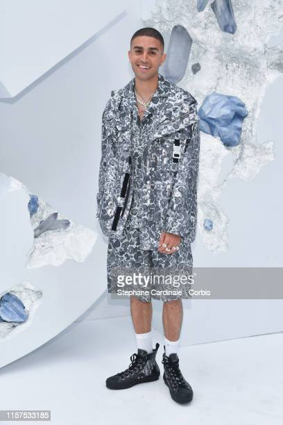 Elias Riadi attends the Dior Homme Menswear Spring Summer 2020 show as part of Paris Fashion Week on June 21 2019 in Paris France