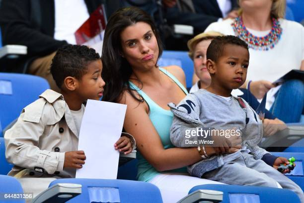 Elias SAGNA / Ludivine SAGNA / Kais SAGNA France / Belgique Match Amical Photo Dave Winter / Icon Sport
