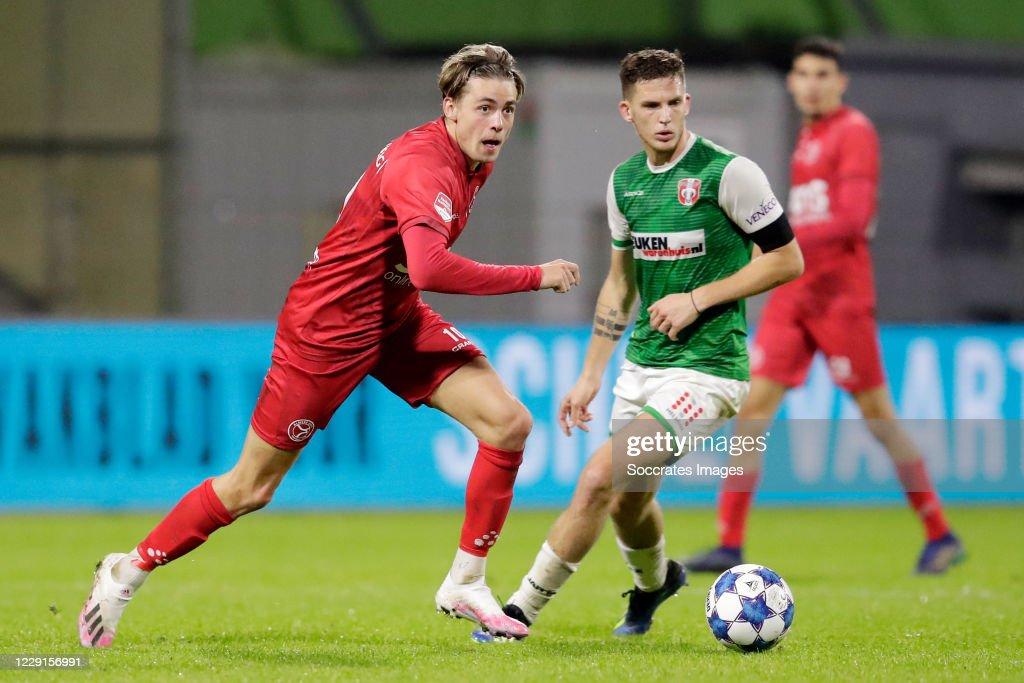FC Dordrecht v Almere City - Dutch Keuken Kampioen Divisie : News Photo