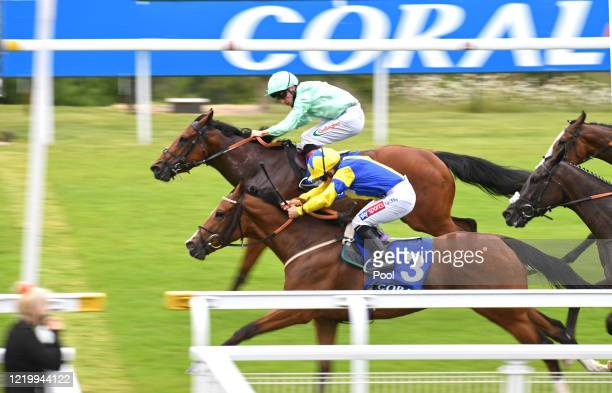 Elictric Ladyland ridden by Hollie Doyle winning the Coral Beaten by a Length Free Bet Handicap at Goodwood Racecourse on June 14 2020 in Chichester...
