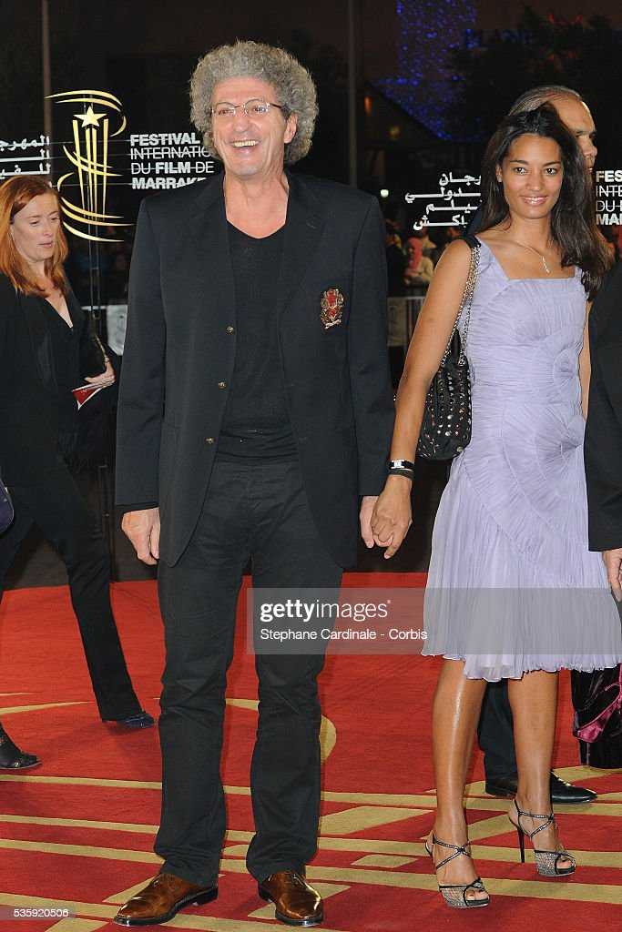 Elie Chouraqui and his Wife attend the Tribute to French Cinema during the Marrakech 10th Film Festival.