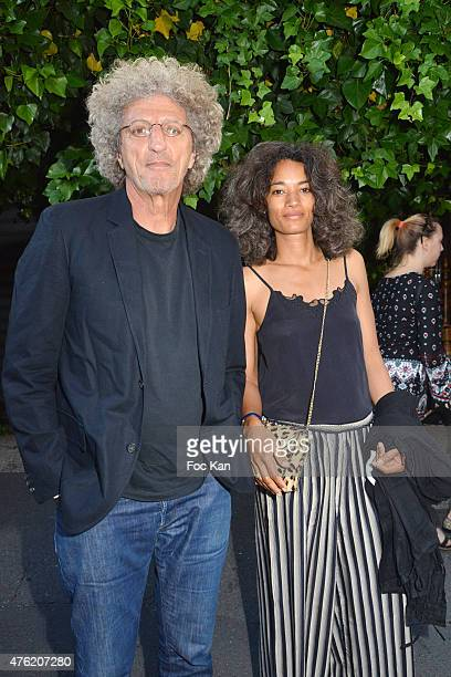 Elie Chouraqui and his wife Isabel Sulpicy attend day two of the Fooding 15th Anniversary Party at Marche Paul Bert Serpette Porte de Clignancourt on...