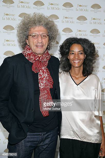 Elie Chouraqui and Isabel Sulpicy attend 'J'aime La Mode 2014' party in Mandarin Oriental as part of the Paris Fashion Week Womenswear Spring/Summer...