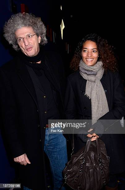 Elie Chouraqui and Isabel Sulpicy attend the 'Prix SaintGermain des Pres 2012 Cinema Awards hosted by 'La Regle Du Jeu' Magazine at the Cinema Saint...