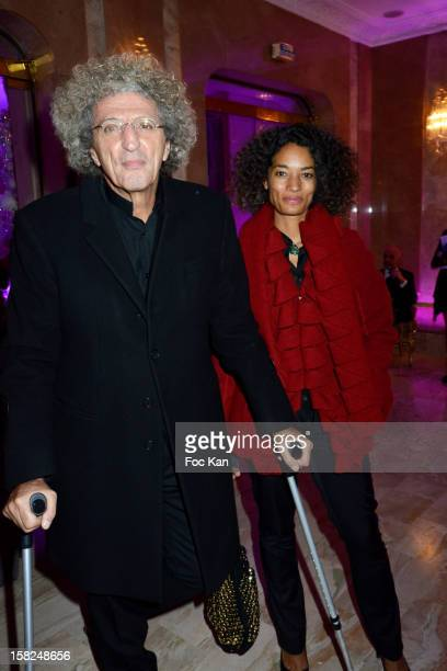 Elie Chouraqui and Isabel Sulpicy attend the The Bests Awards 2012 Ceremony at the Salons Hoche on December 11 2012 in Paris France